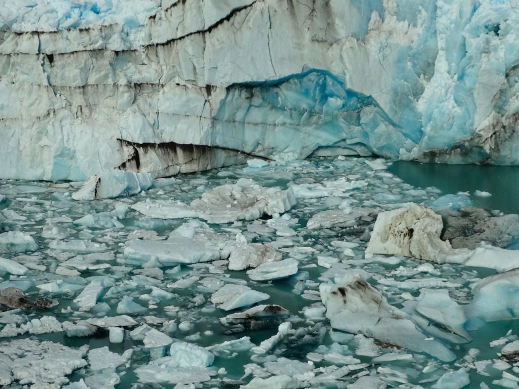 Perito Moreno hat gekalbt