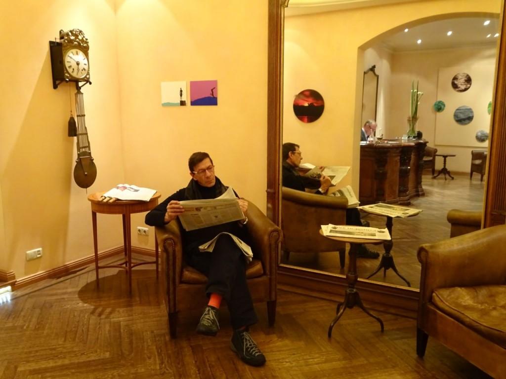 Salon Uhr Frank